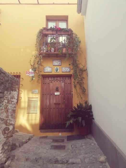 Entrada al Museo Sefardi Granada